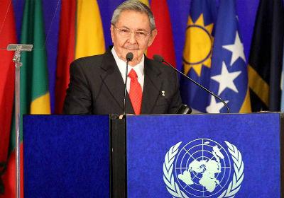 El presidente de Cuba, Raúl Castro. -