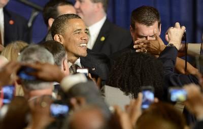 Obama asiste a un concierto de Marc Anthony en Miami para recaudar fondos 134079583511020120627-4666078dn