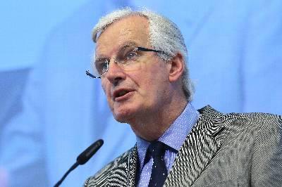 El comisario europeo del Mercado Interior y Servicios Financieros, Michel Barnier. EFE/Archivo
