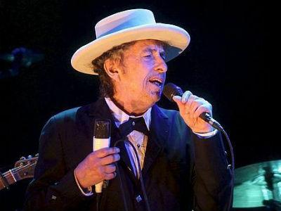 El músico norteamericano Bob Dylan, en su actuación en Benicàssim el 13 de julio de 2012.