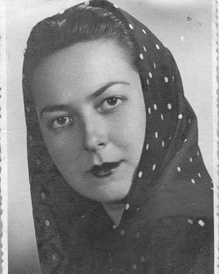 Encarnita Magaña, fusilada en 1942.