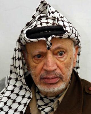 Yaser Arafat, en una imagen de archivo. EFE