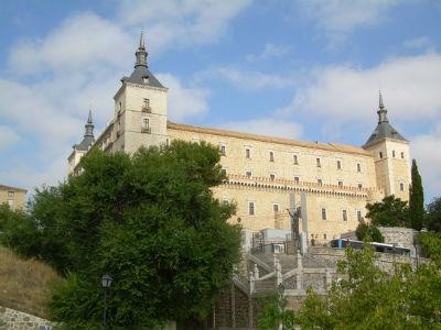 Imagen del Alcázar de Toledo, sede del Museo del Ejército.