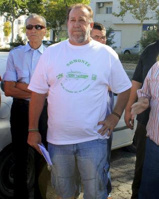 Foto sin fecha del secretario de organización del Sindicato Andaluz de Trabajadores (SAT), José Caballero. EFE/Carlos Domínguez