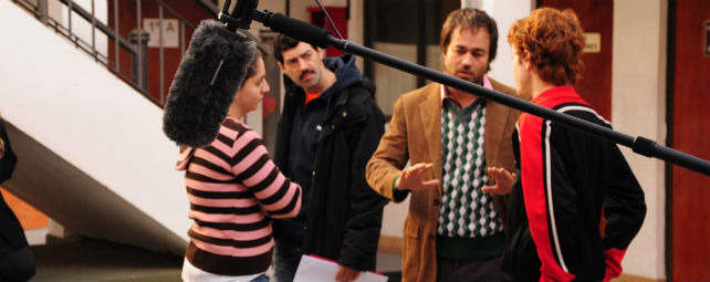 Imagen del rodaje.