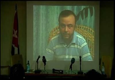 Ángel Carromero, en la declaración grabada en Cuba en la que se responsabiliza del accidente.
