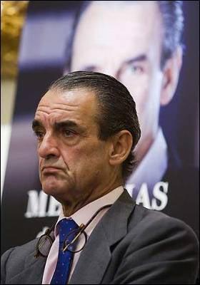 El candidato de Sociedad Civil y Democracia, Mario Conde. EFE