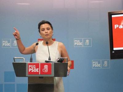 Laura Serara, de los socialistas gallegos. EP