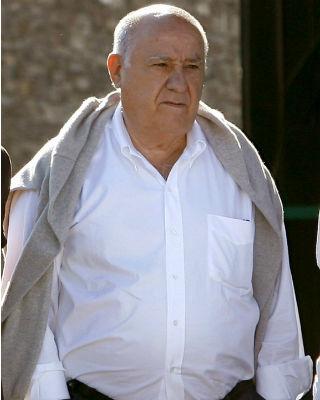El empresario español Amancio Ortega, en julio pasado. EFE/Cabalar