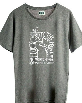 La camiseta que ha puesto a la venta la tienda 'Weekly'.