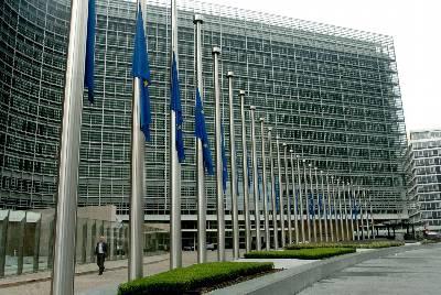 Edificio de la Comisión Europea en Bruselas.