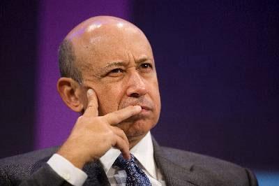 Lloyd Blankfein, todavía presidente de Goldman Sachs.
