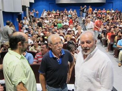 Julio Anguita ha presentado el Frente Cívico-Somos mayoría - EP