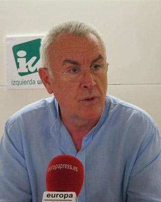 El coordinador federal de Izquierda Unida, Cayo Lara.