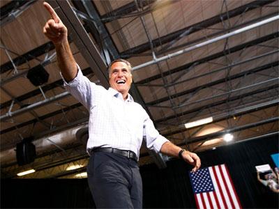 El candidato republicano a la presidencia de Estados Unidos, Mitt Romney.REUTERS/Jim Young