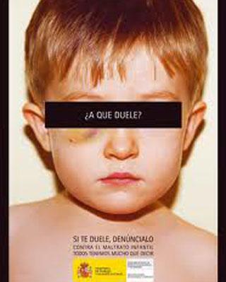 Campaña de 2006 contra el maltrato infantil en España (Imagen de archivo)