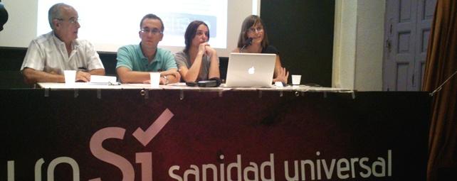 La plataforma 'Yo Sí Sanidad Universal' ha elaborado un gran número de documentos de análisis de la reforma sanitaria y manuales de objeción.