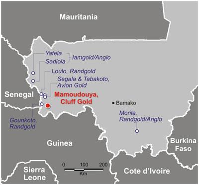 Explotaciones de oro en Malí. - AMARA