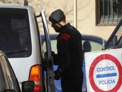 Un control policial de los Mossos/EFE