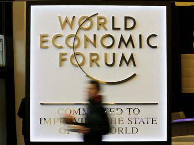 Comienza el Foro Económico Mundial (WEF) en el palacio de congresos de la ciudad alpina de Davos.