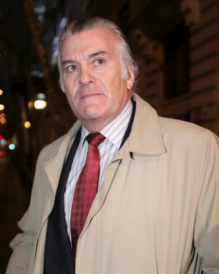 Luis Bárcenas, a la salida de su casa el pasado día 23/EFE