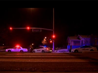 Imagen del exterior de la casa tras el tiroteo en la localidad estadounidense de Aurora, Colorado.