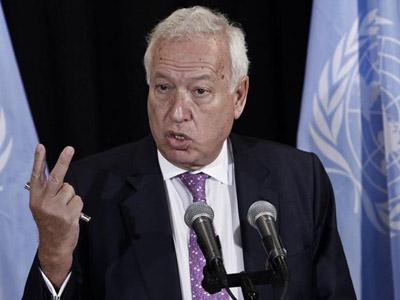 El ministro de Asuntos Exteriores y de Cooperación, José Manuel García-Margallo