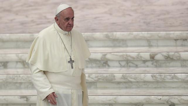 El Papa Francisco, tras una audiencia en el Vaticano.