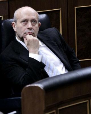 El ministro de Educación, José Ignacio Wert, durante una sesión de control al Gobierno. EFE