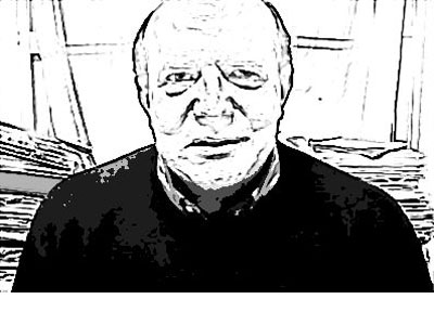 Fernando Saleta, del Colectivo La Calle. HENRIQUE MARIÑO