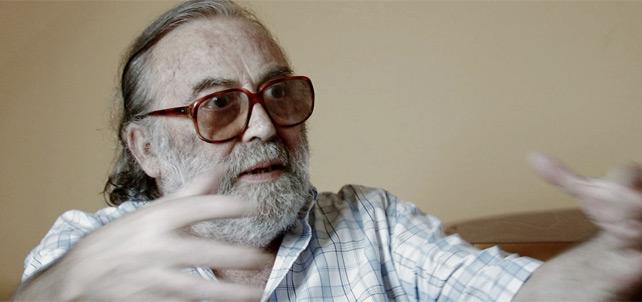 Fernando Ruiz, director del documental 'Rocío' durante la entrevista realizada para el filme 'El caso Rocío'
