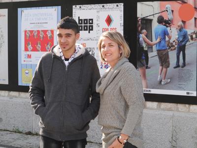 Rami Ismael Abu Haniyeh y Raquel Castells.