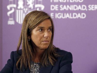 Imagen de la Ministra de Sanidad, Servicios Sociales e Igualdad.