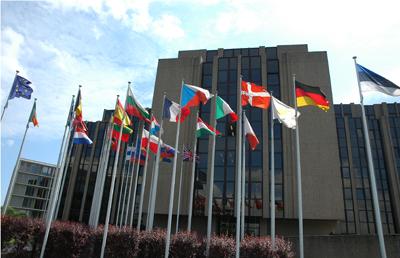 El Tribunal de Justicia de la Unión Europea, con sede en Luxemburgo.
