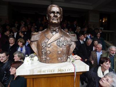 Estatua de Miklos Horthy.