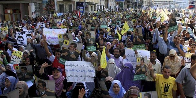 Seguidores de Mursi protestan en Alejandría el pasado 1 de noviembre de 2013. REUTERS/Stringer