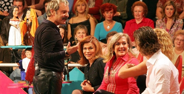 Un momento del programa del corazón estrella de Canal 9, 'Tómbola!. RTVV