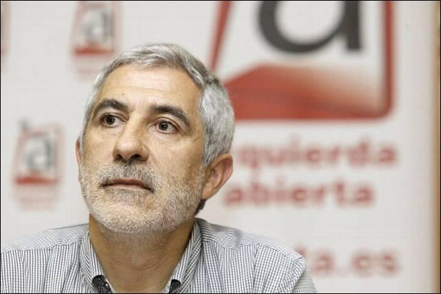 El diputado de IU por Asturias, Gaspar Llamazares.- EFE/Archivo