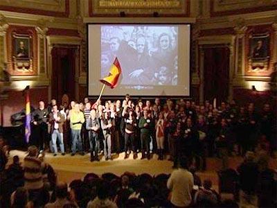 Cargos públicos firman una declaración por la República. -EP