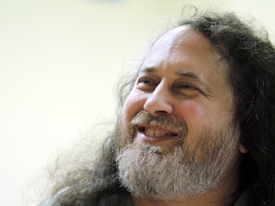 Richard Stallman, padre del software libre.- AFP