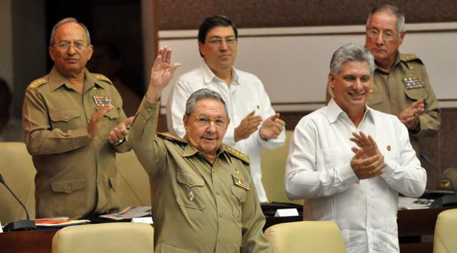 El presidente cubano, Raúl Castro, asiste al pleno de 2013 de la Asamblea Nacional de Cuba, en La Habana.