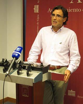 Eduardo Junquera, el concejal del PP en Gijón, que ha presentado su dimisión.