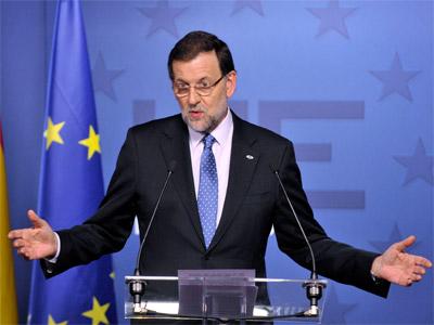 Rajoy, el pasado viernes. REUTERS/Eric Vidal
