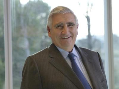 Ricardo Pagés, cuando fue elegido presidente de Caixa Penedés
