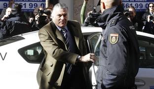 El extesorero del PP a su llegada a la Fiscalía Anticorrupción la semana pasada.