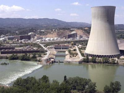 La central nuclear de Garoña, ubicada en Burgos. EFE