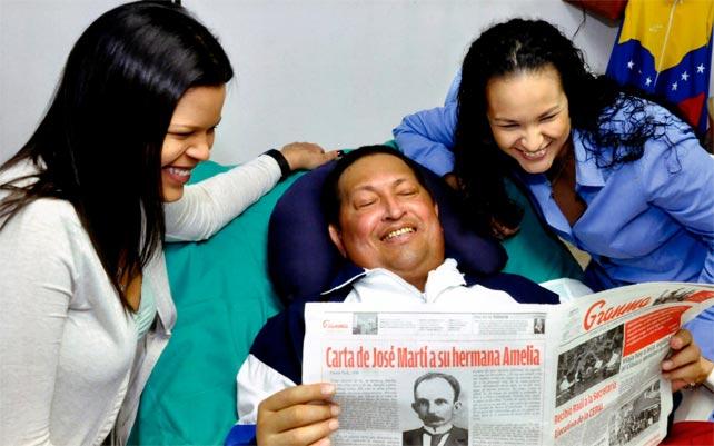 Fotografía difundida por el Ministerio de Información venezolano.