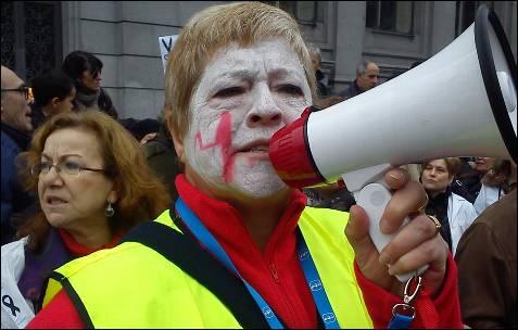 La marcha madrileña se ha extendido a más de 15 ciudades españolas. A. B.
