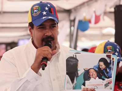 Maduro muestra las últimas fotografías de Chávez.