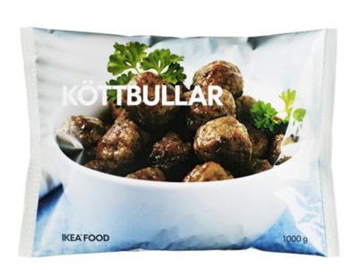 Las albóndigas 'KÖTTBULLAR' que IKEA comercializa en España.